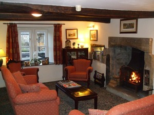 Guest Lounge at Wood View Bed & Breakfast, Austwick