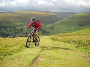 Biking in Littondale